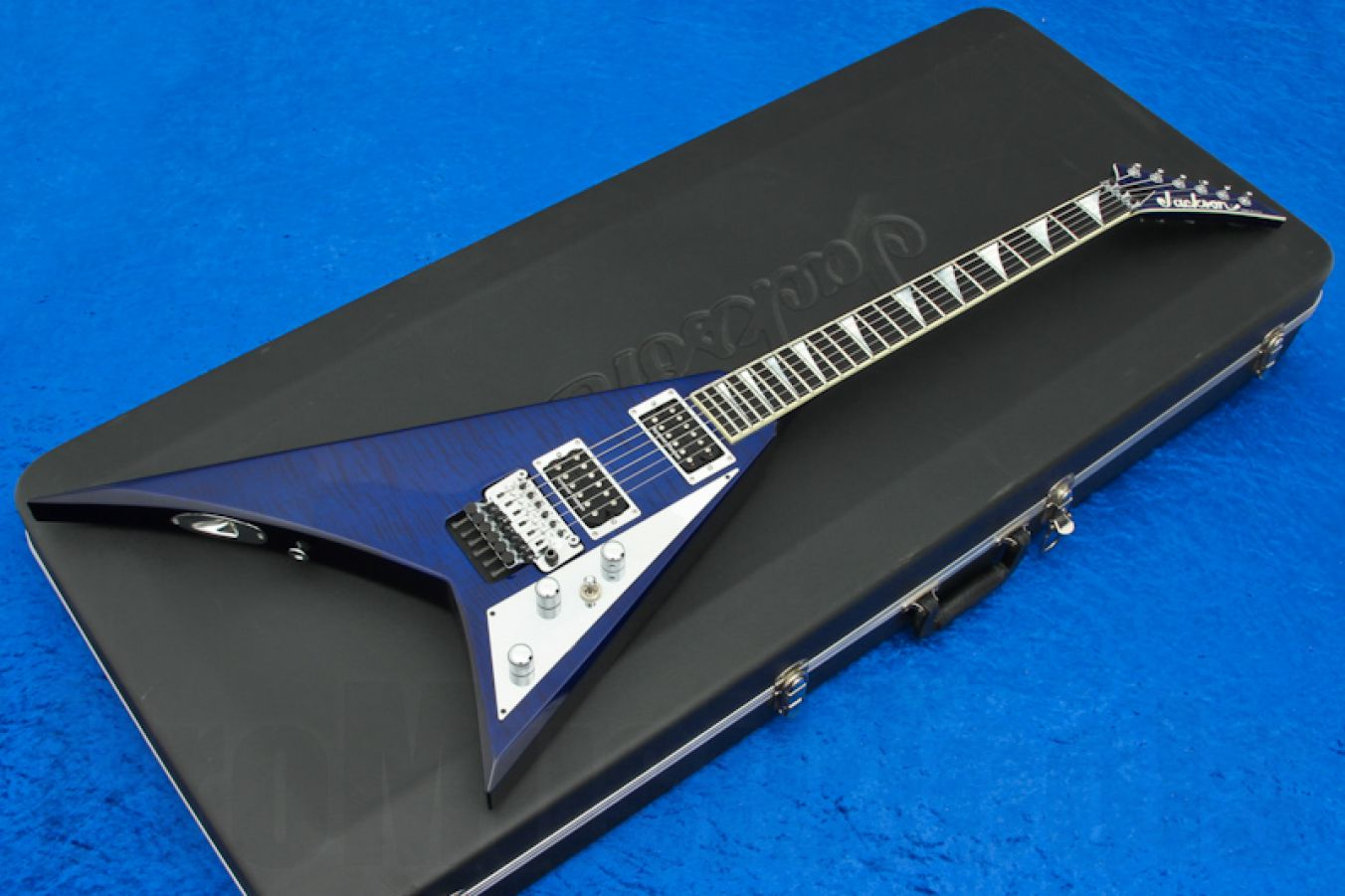 Jackson USA RR1 Randy Rhoads TB - Trans Blue
