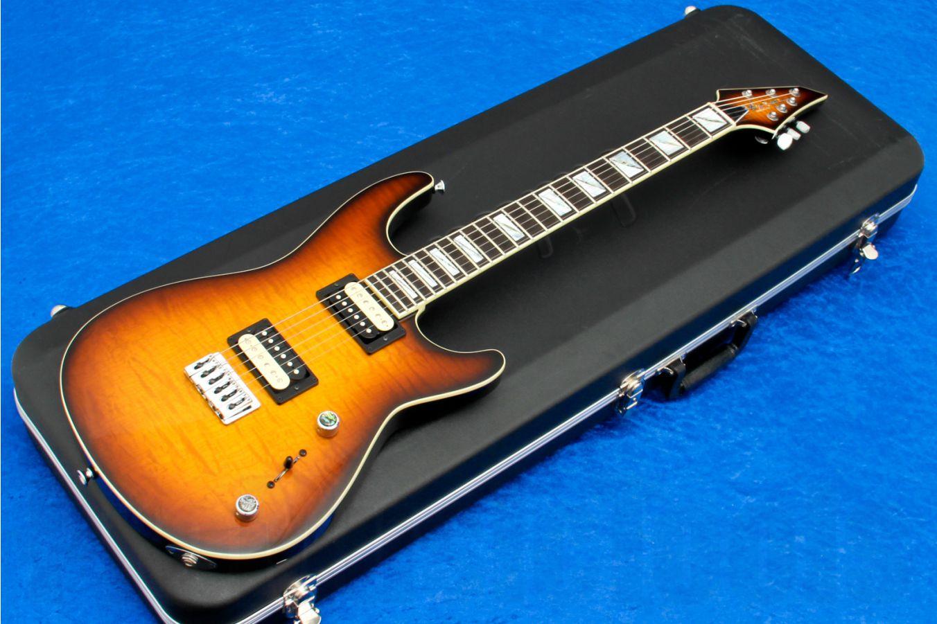 Jackson USA Soloist SLS Custom Shop - Tobacco Sunburst