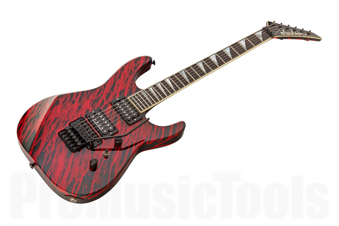 Jackson USA Custom Shop Soloist SL2H - Blood Drop Graphics