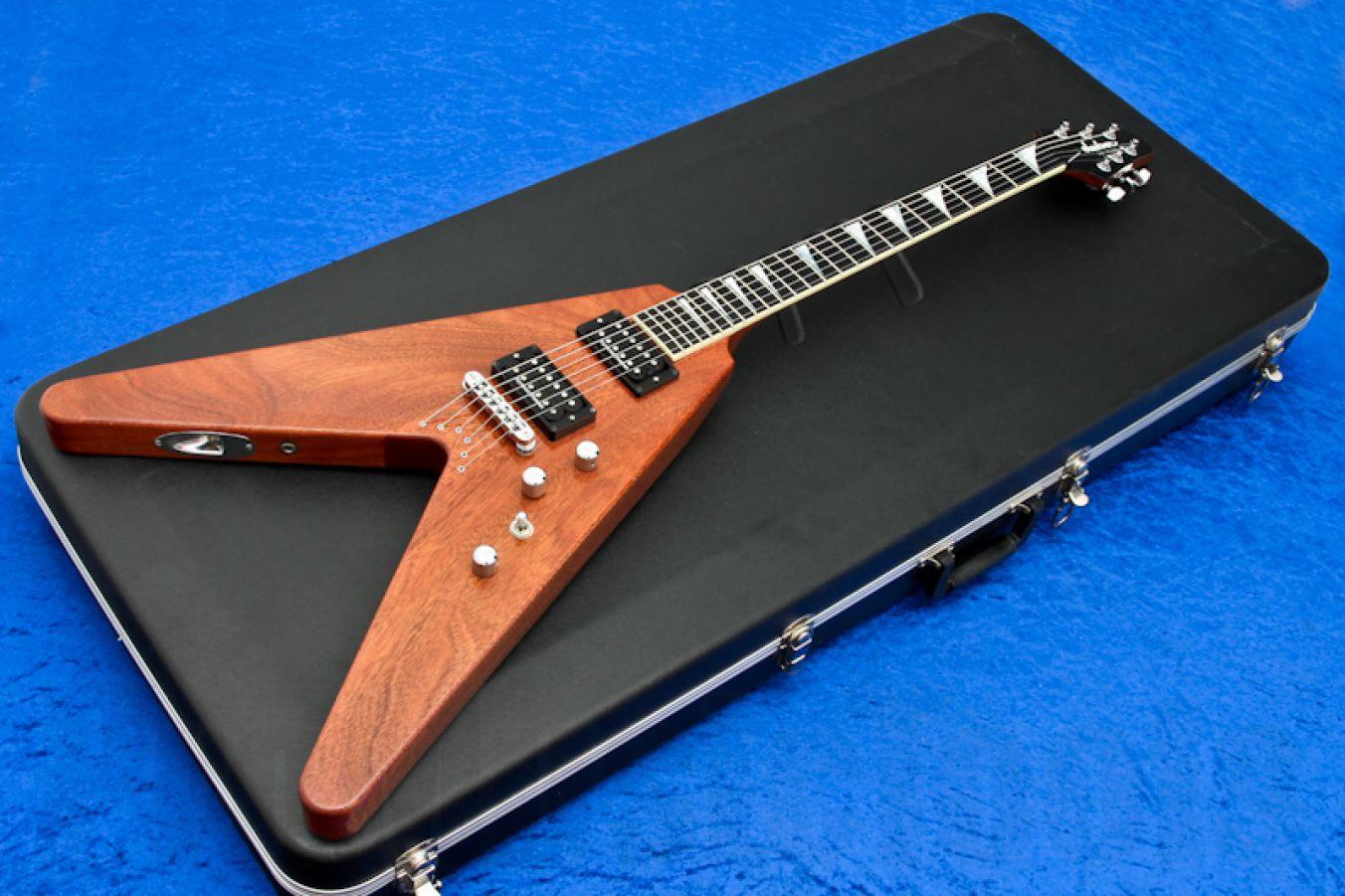 Jackson USA Y2KV Dave Mustaine - Natural Mahogany