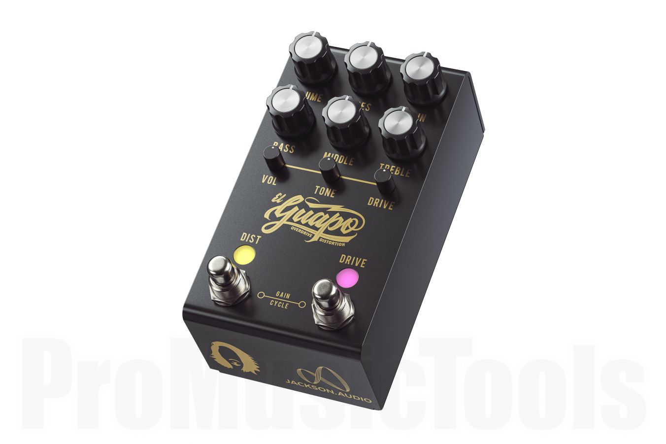 Jackson Audio El Guapo - Mateus Asato Signature Overdrive & Distortion