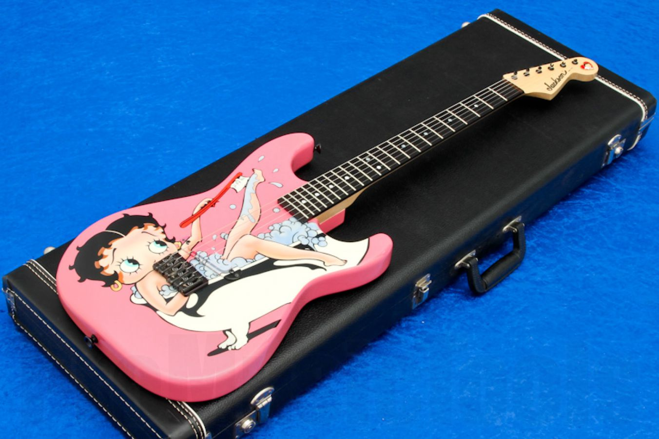 Jackson USA Custom Strat - Betty Boop Graphics