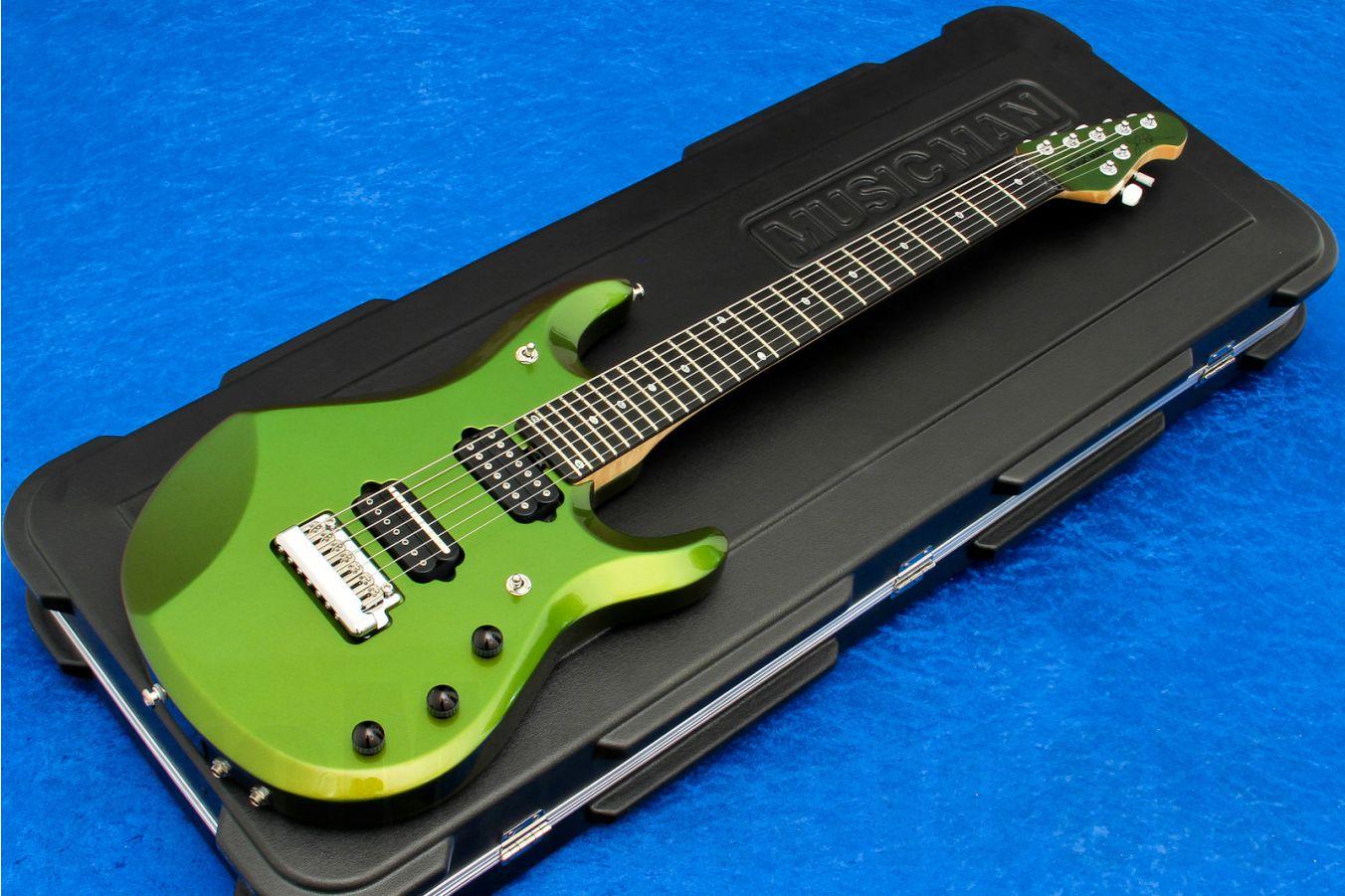 Music Man USA John Petrucci JP7 Piezo DD - Dargie Delight II MH