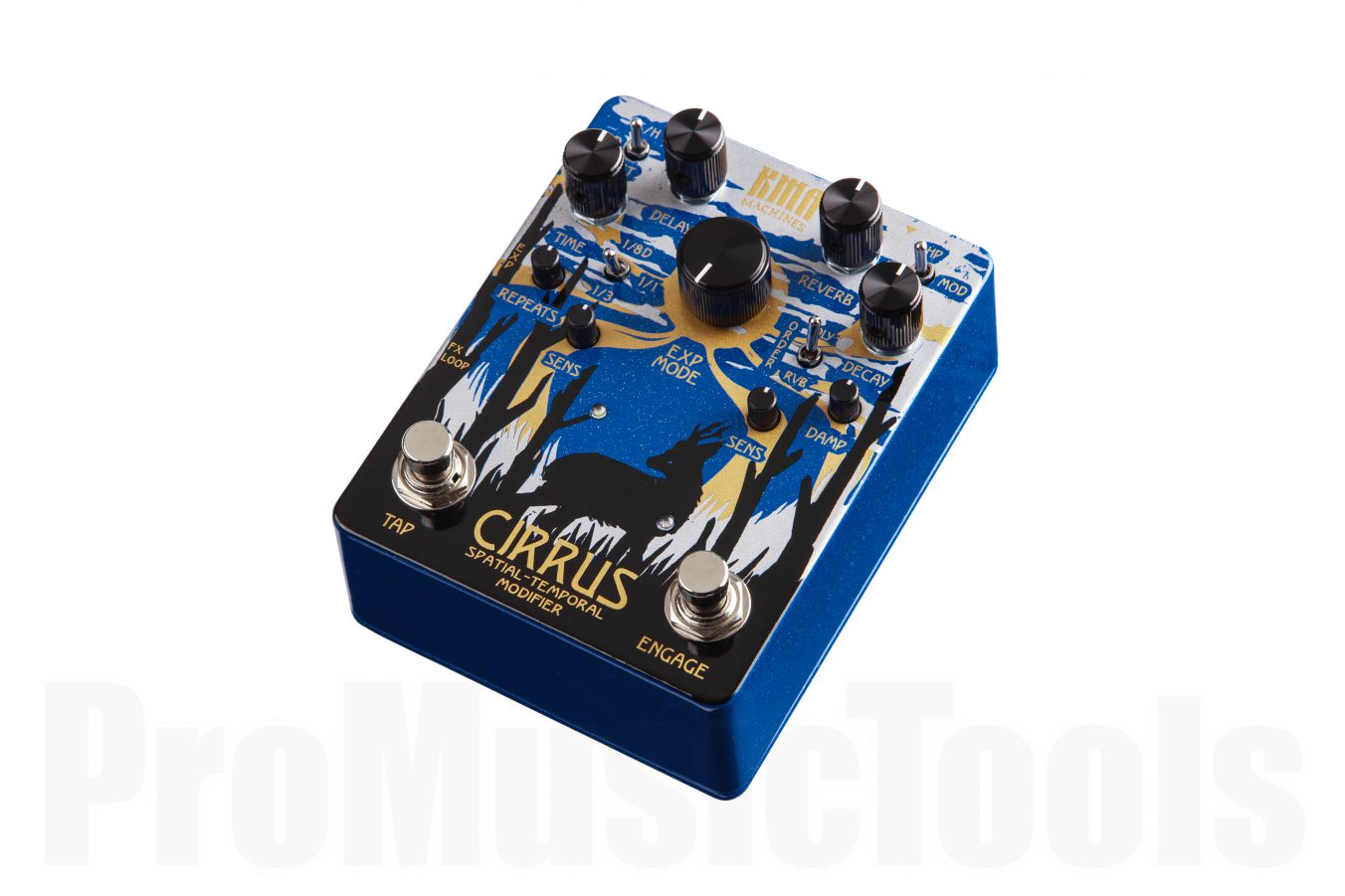 KMA Audio Machines Cirrus Ice Limited Edition Spatial-Temporal Modifier - Delay / Reverb