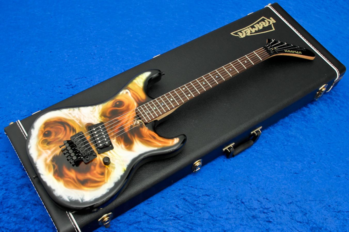 Kramer Baretta 1985 USA Reissue - Custom 'Nightmare' graphics