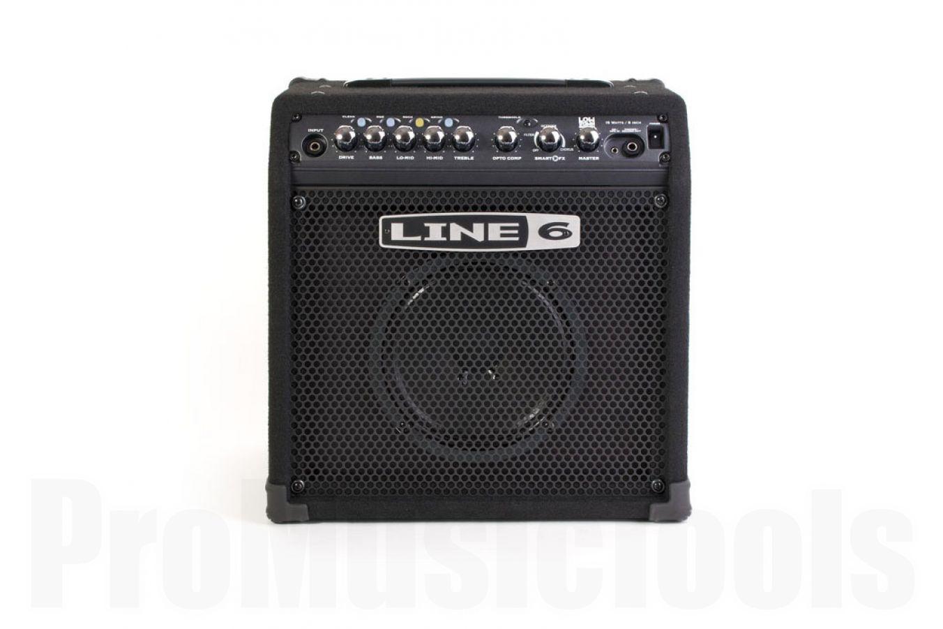 Line6 LowDown LD15 bass amp - demo