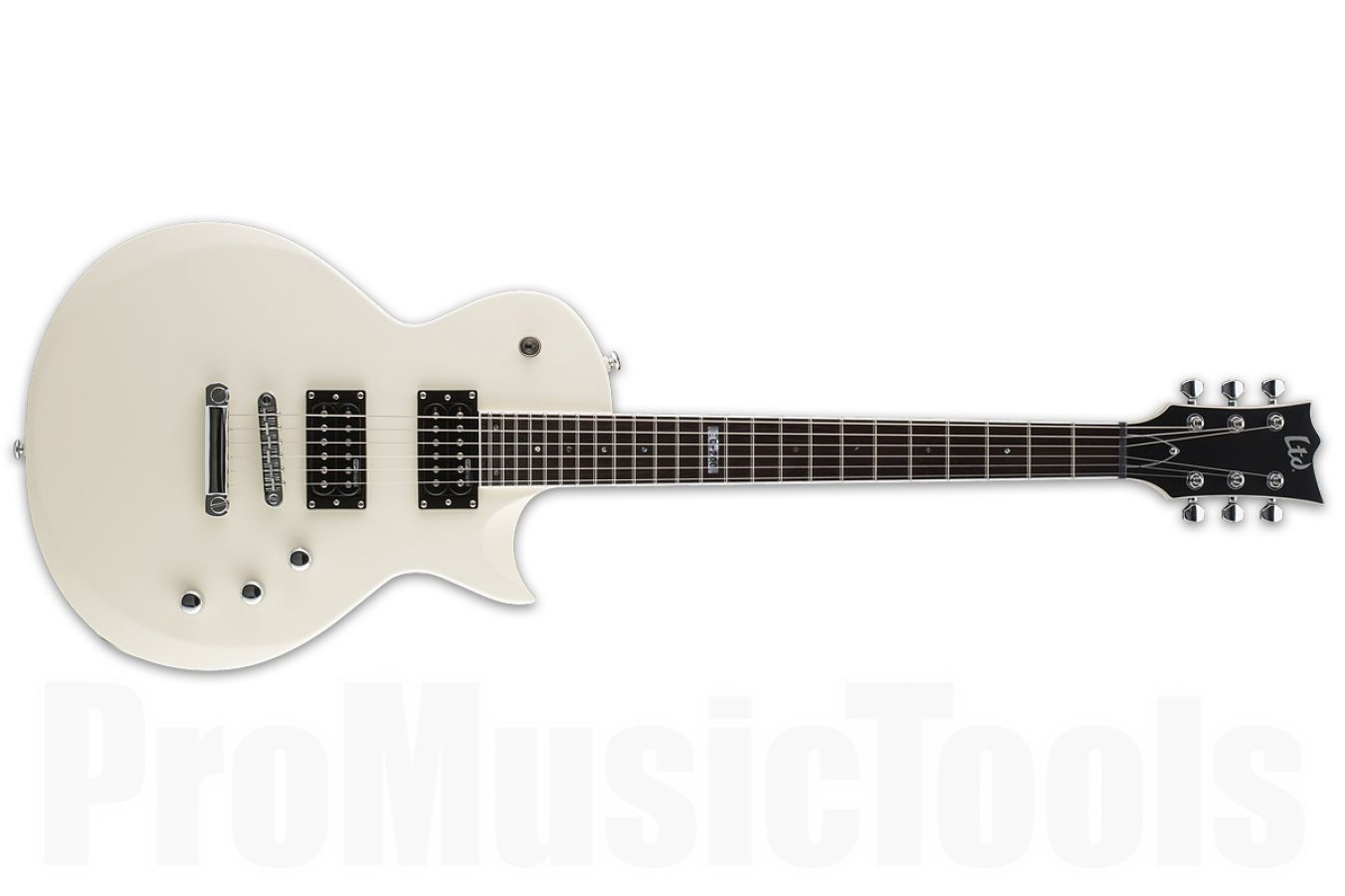 ESP Ltd Eclipse EC-200 VWS - Vintage White Satin