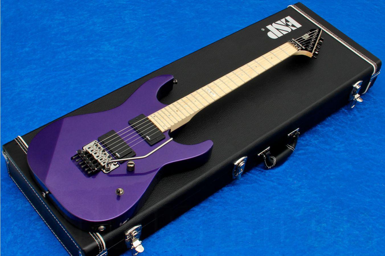 ESP M-II/M EMG Special Edition - Metallic Purple