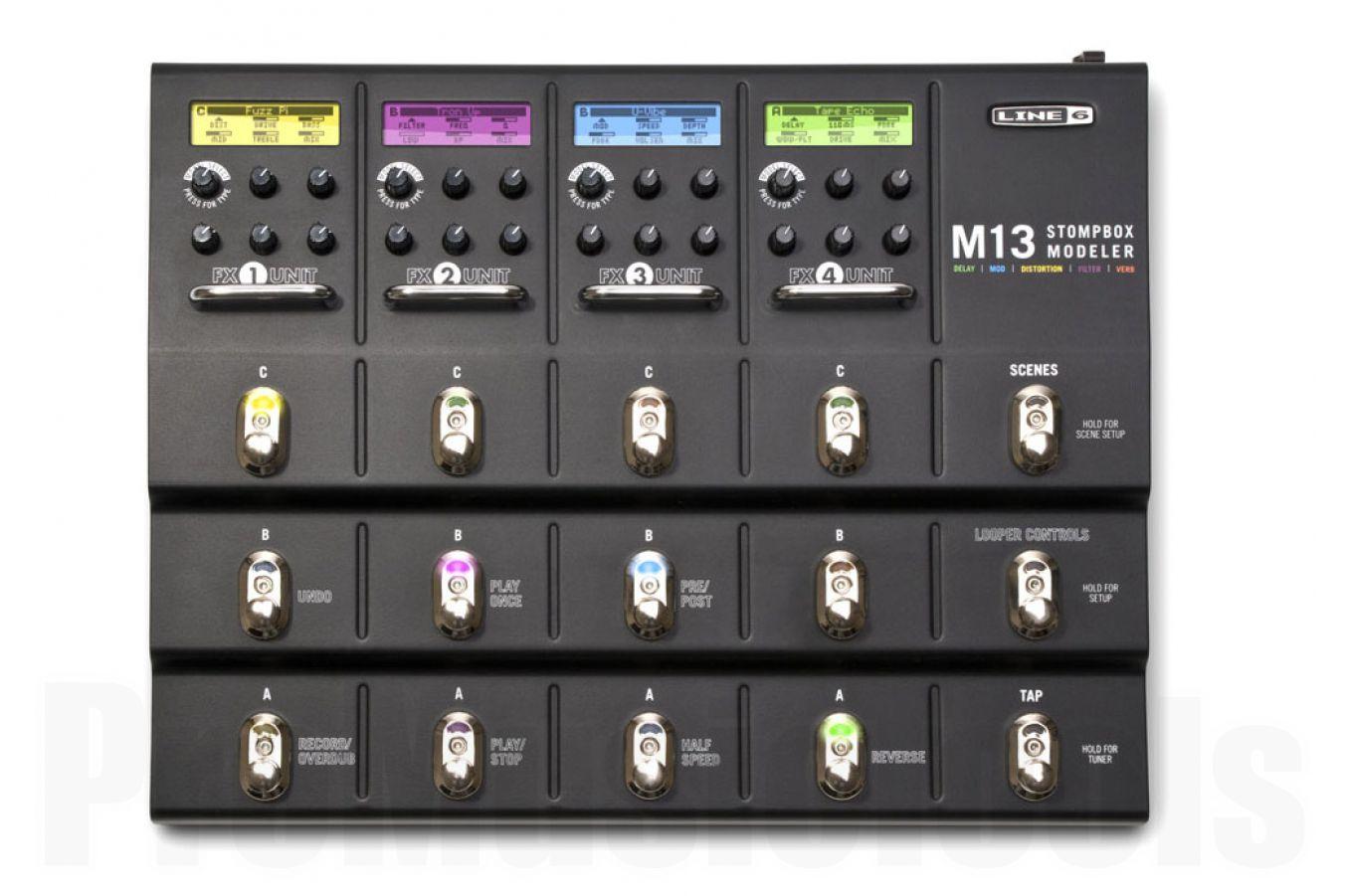 Line6 M13 Stompbox Modeler