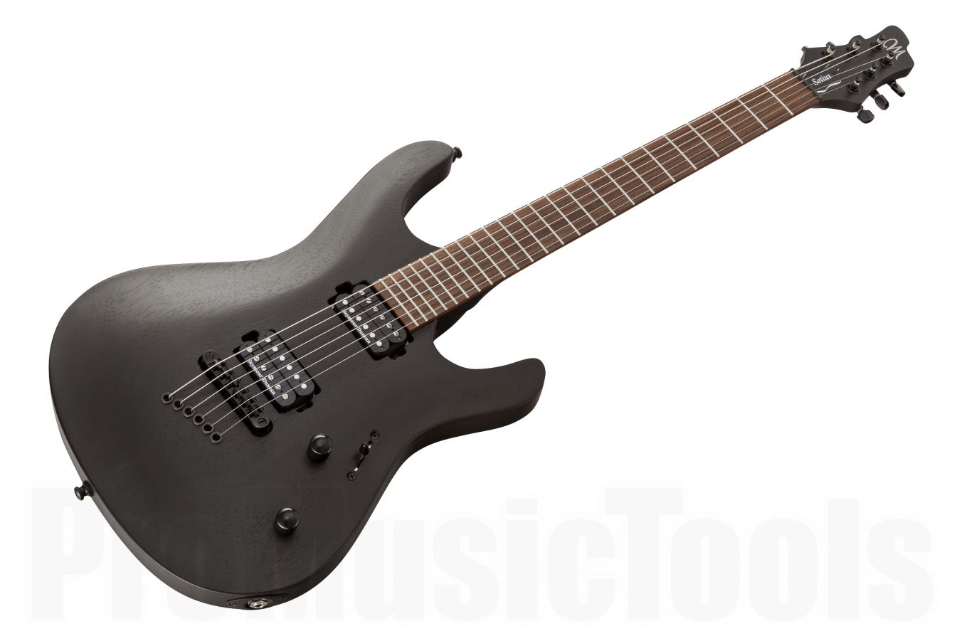 Mayones Setius 6 Alpha - Transparent Black Matt