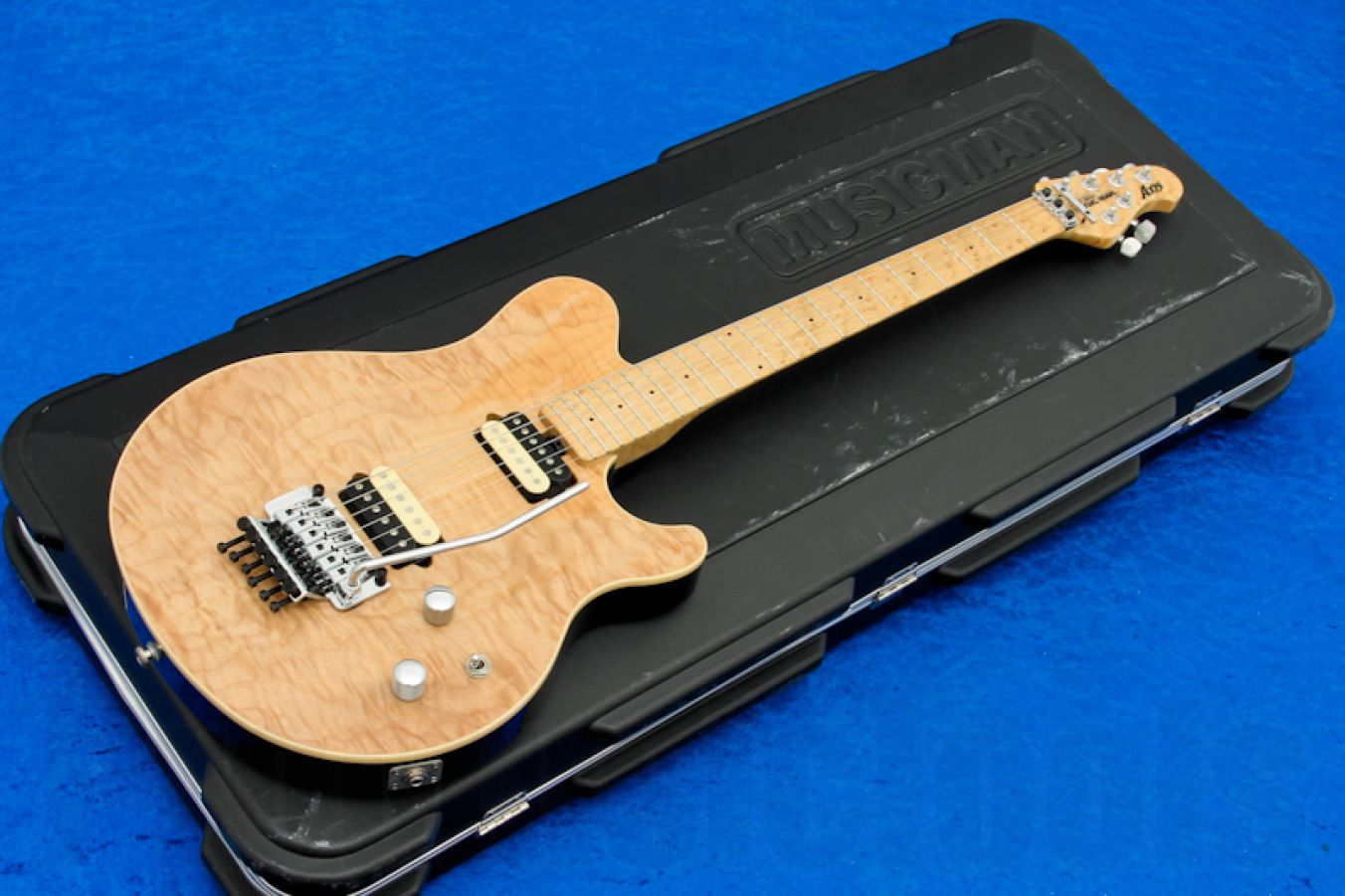Music Man USA Axis NT - Natural (w/ tone control mod)