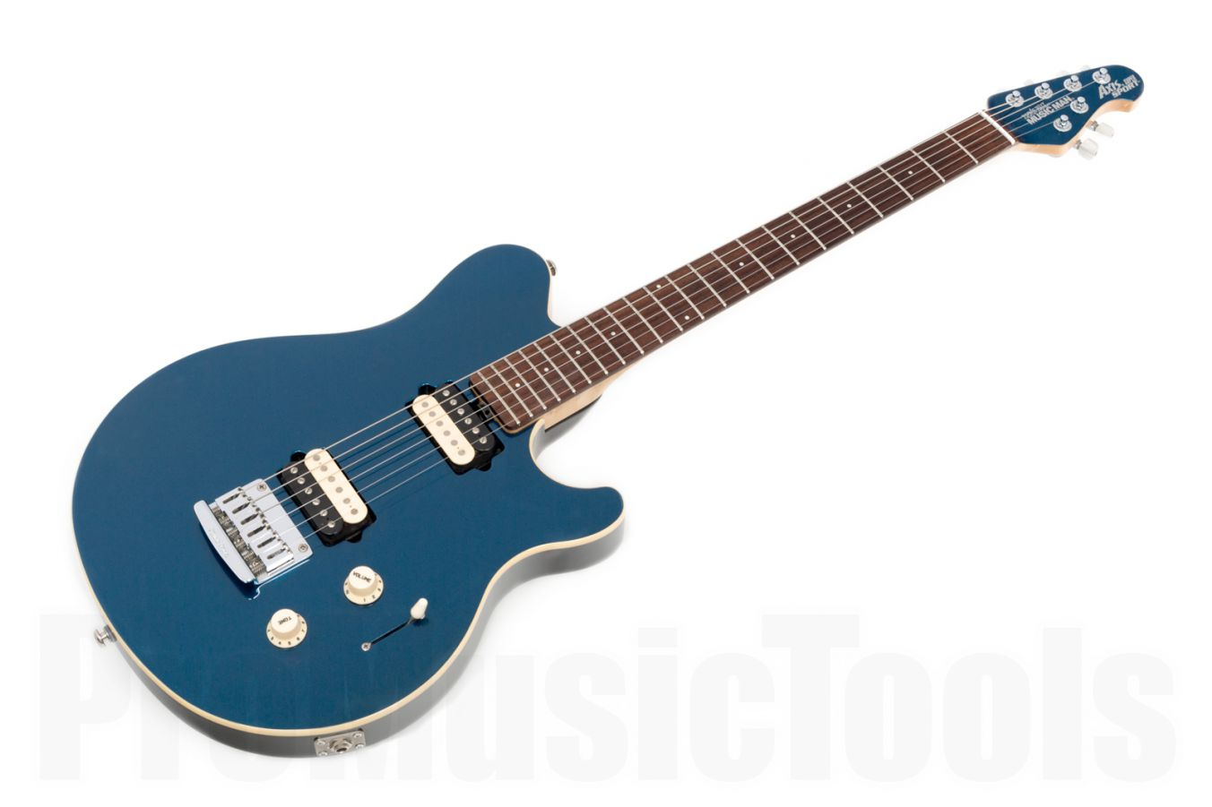 Music Man USA Axis Super Sport STD BP - Blue Pearl RW MH