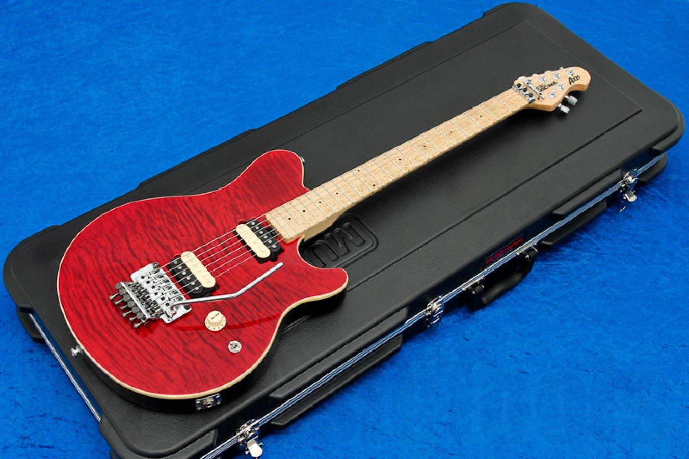 Music Man USA Axis TR - Translucent Red