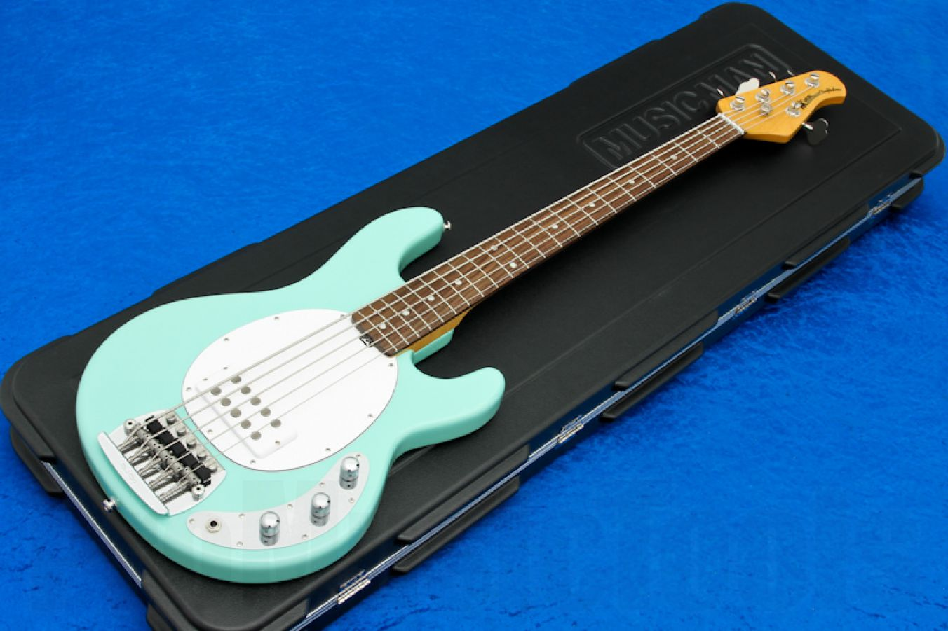 Music Man USA Classic Stingray 5 MG - Mint Green RW Birdseye