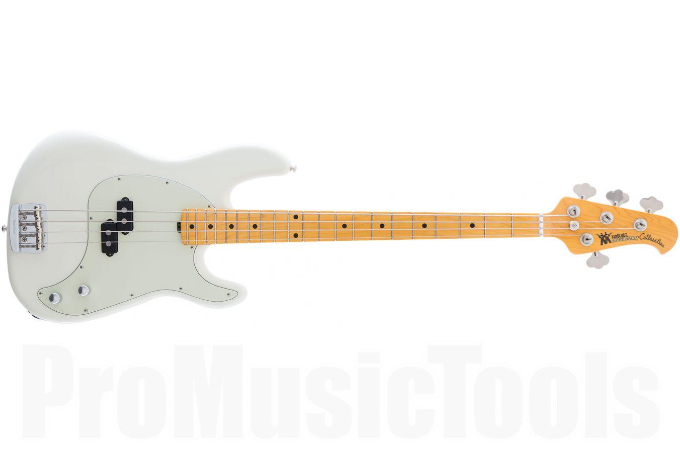 Music Man USA Cutlass Bass IW - Ivory White MN