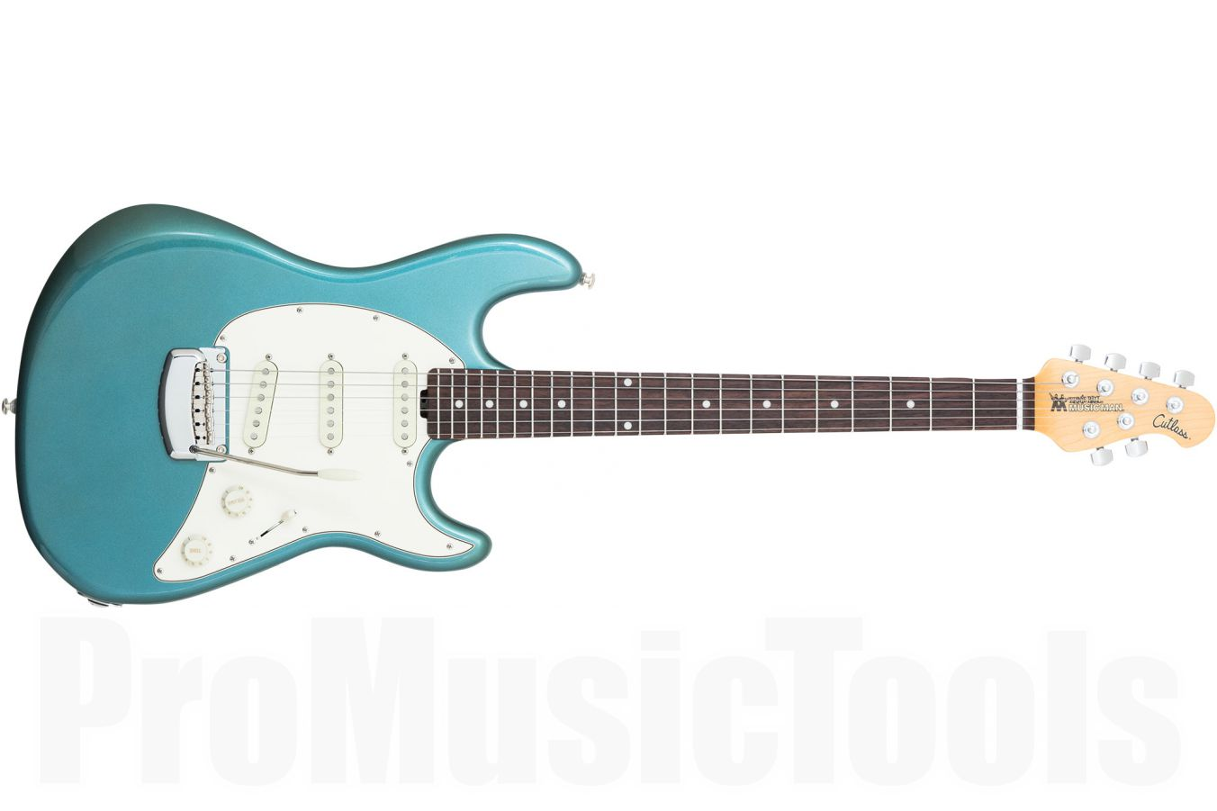 Music Man USA Cutlass Guitar VT - Vintage Turquoise RW - b-stock