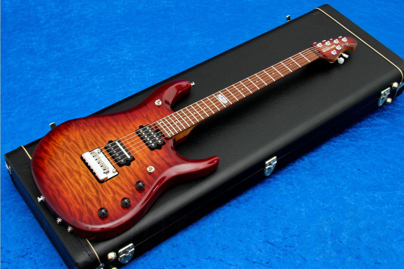 Music Man USA John Petrucci JP6 BFR QT CH - PDN Honey Roasted Limited Edition