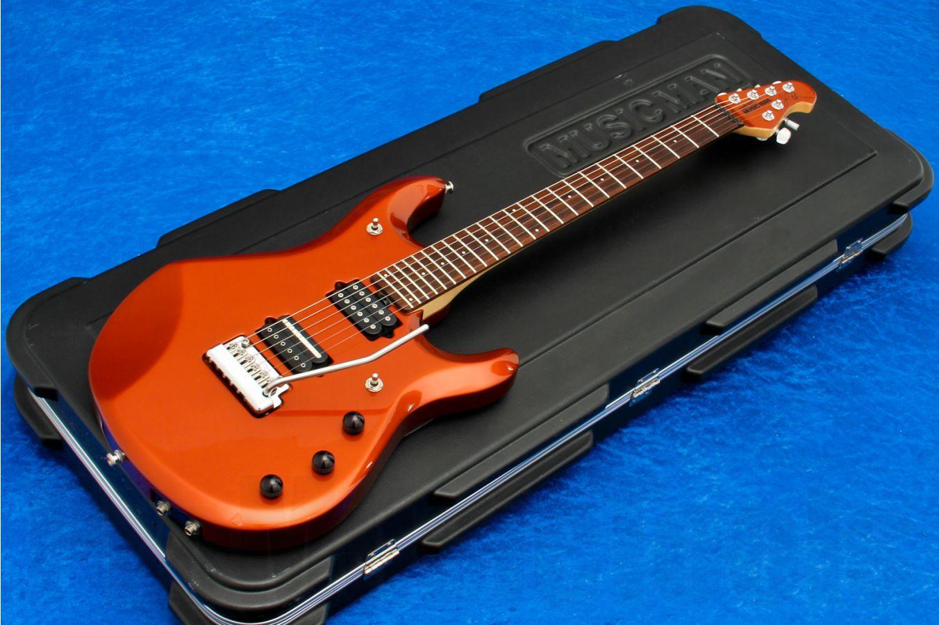 Music Man USA John Petrucci JP6 Piezo LP - Lava Pearl MH
