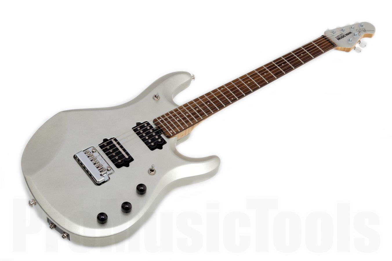 Music Man USA John Petrucci JP6 Piezo SSI - Sterling Silver MH
