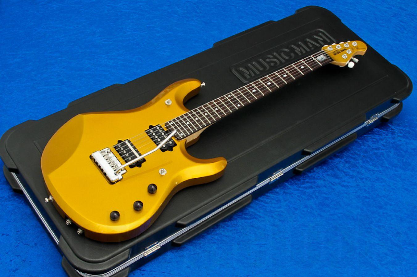 Music Man USA John Petrucci JP6 Piezo TGO - True Gold MH JP Inlays