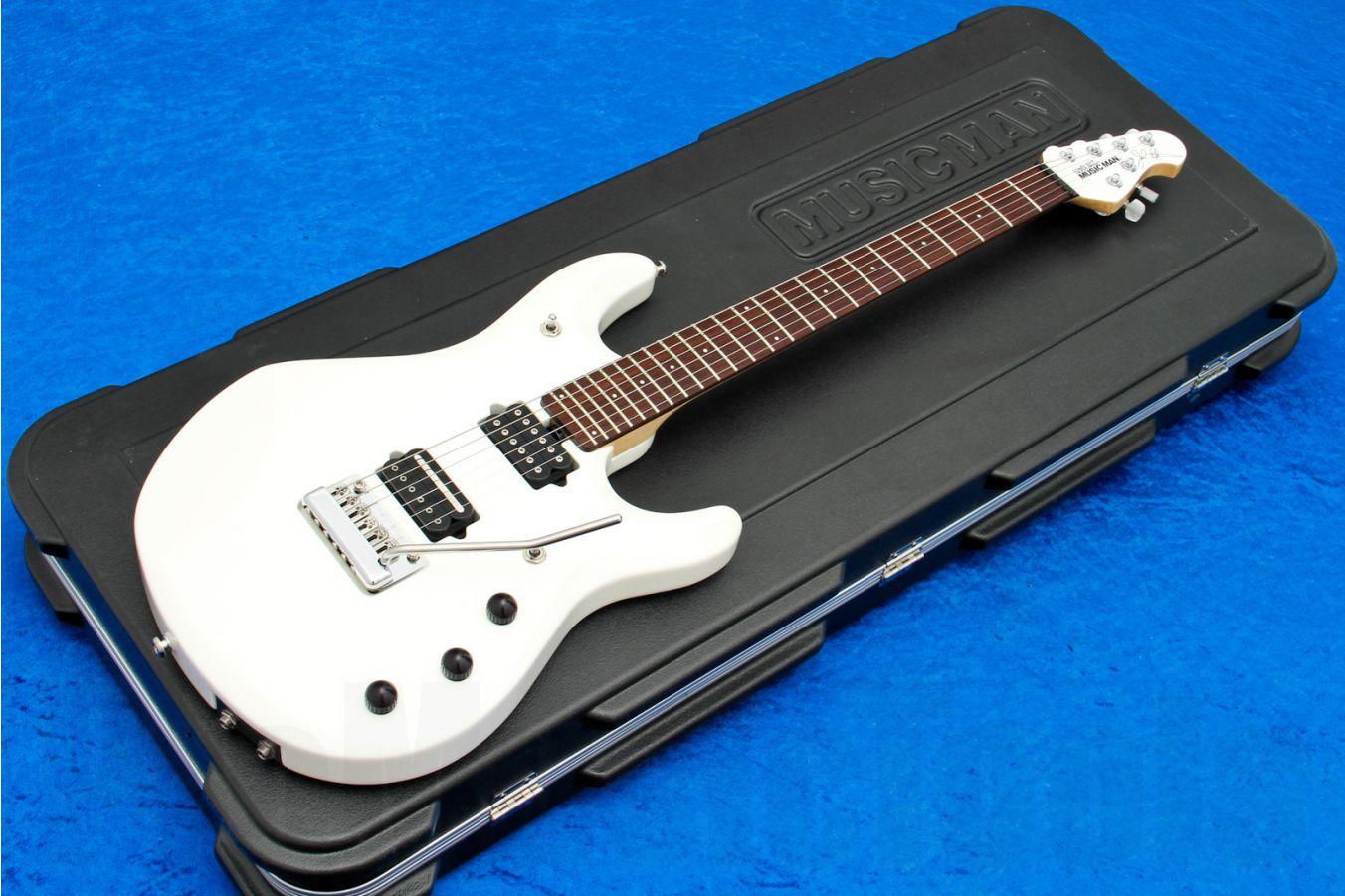 Music Man USA John Petrucci JP6 Piezo WH - White MH