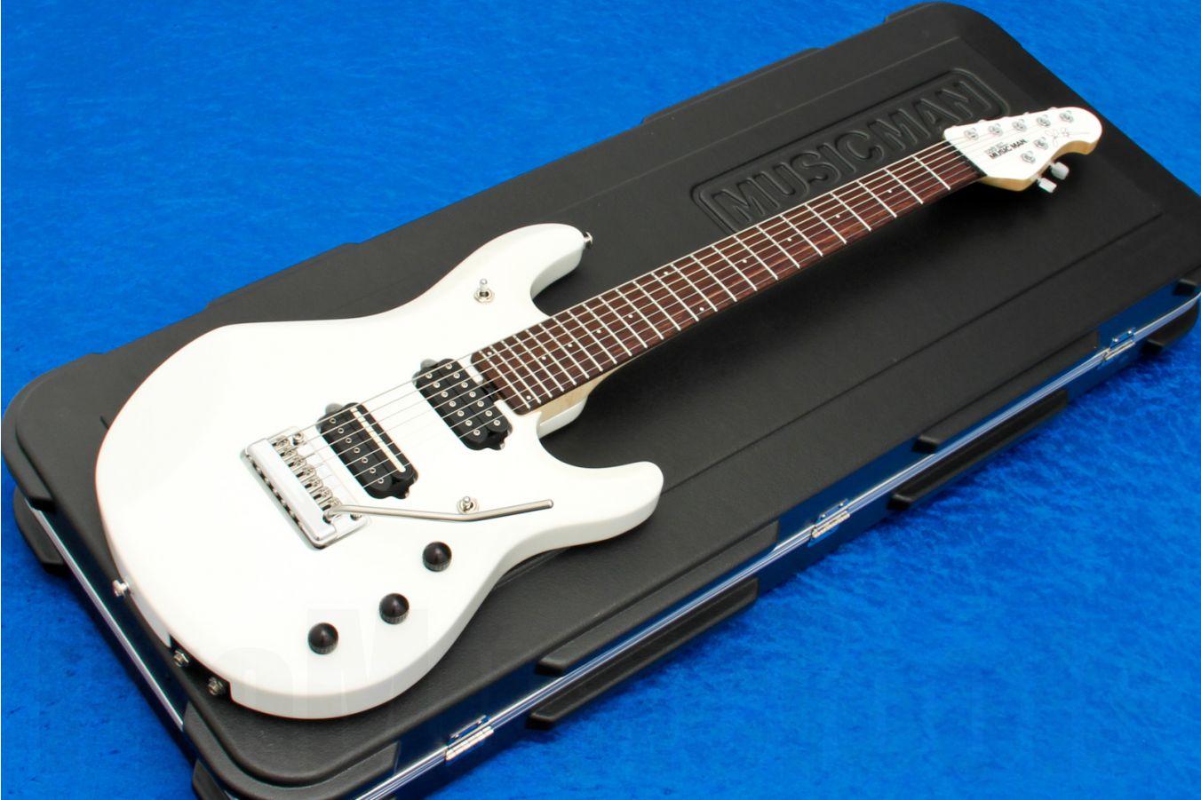 Music Man USA John Petrucci JP7 Piezo WH - White MH