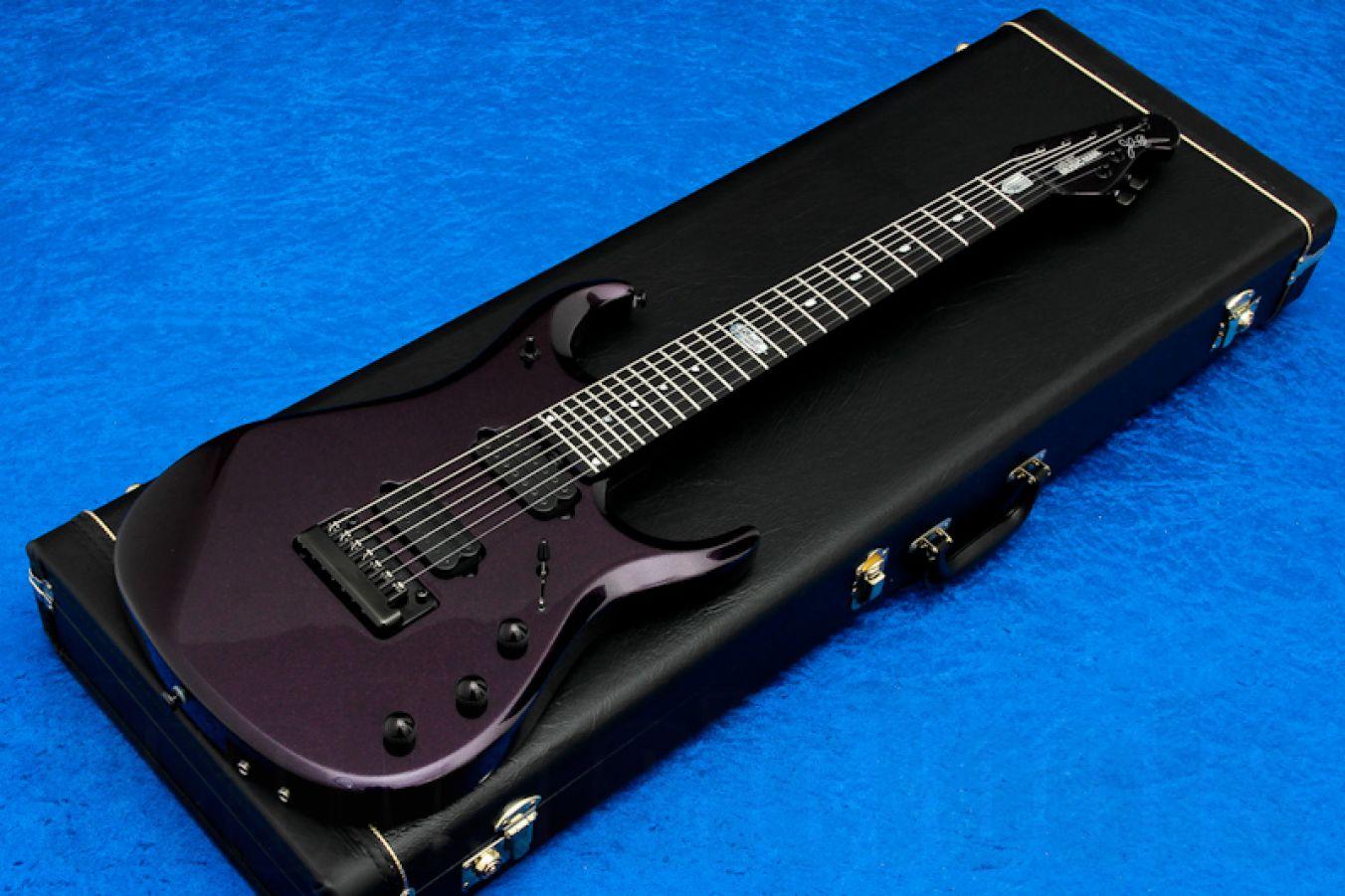 Music Man USA John Petrucci JPX-7 BX - Barolo