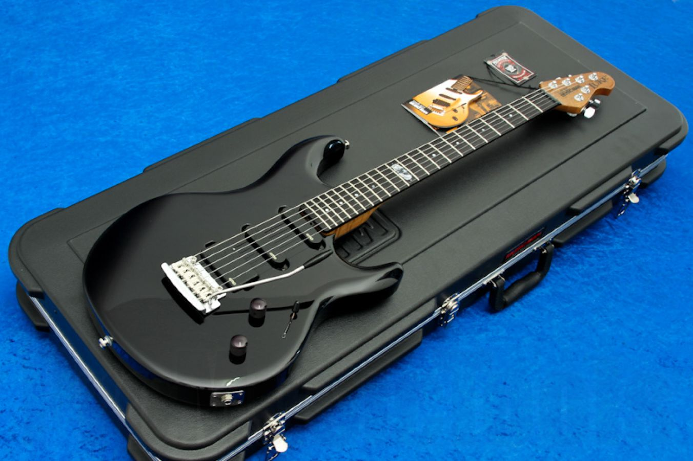 Music Man USA Luke BS - Black Sugar BFR Roasted Neck Limited Edition