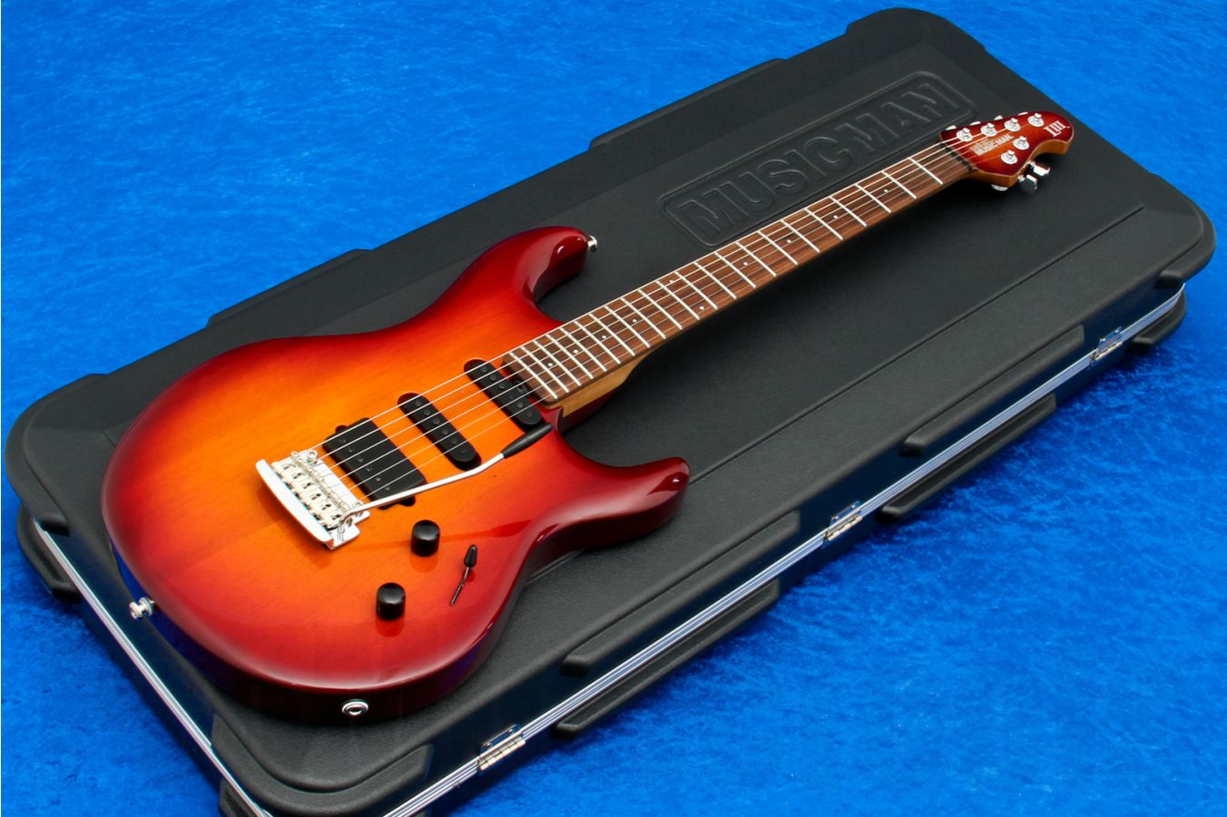 Music Man USA Luke III HSS CH - PDN Honey Roasted Limited Edition