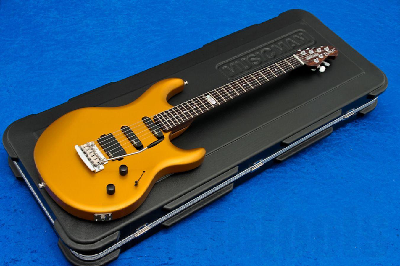 Music Man USA Luke BFR TGO - True Gold Rosewood Neck PDN Limited Edition