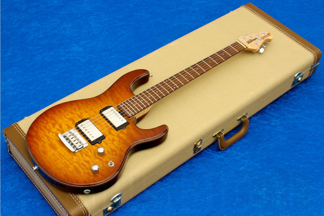 Music Man USA Silhouette HH STD - Caramel Burst 20th Anniversary Limited Edition