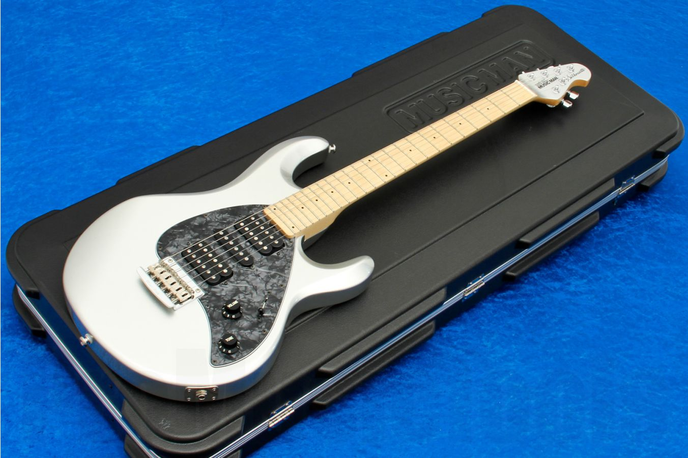 Music Man USA Silhouette HSH STD SSI - Sterling Silver MN MH