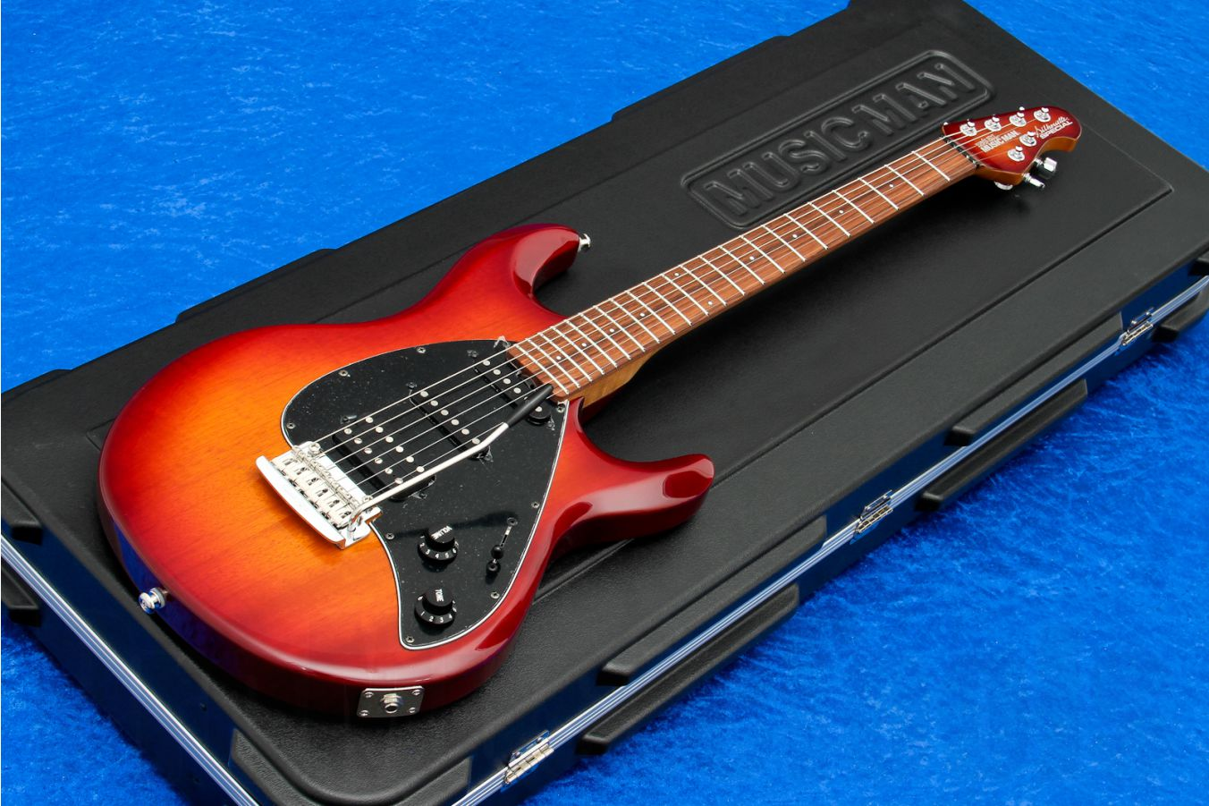 Music Man USA Silhouette Special HSS Trem CH - PDN Honey Roasted Limited Edition