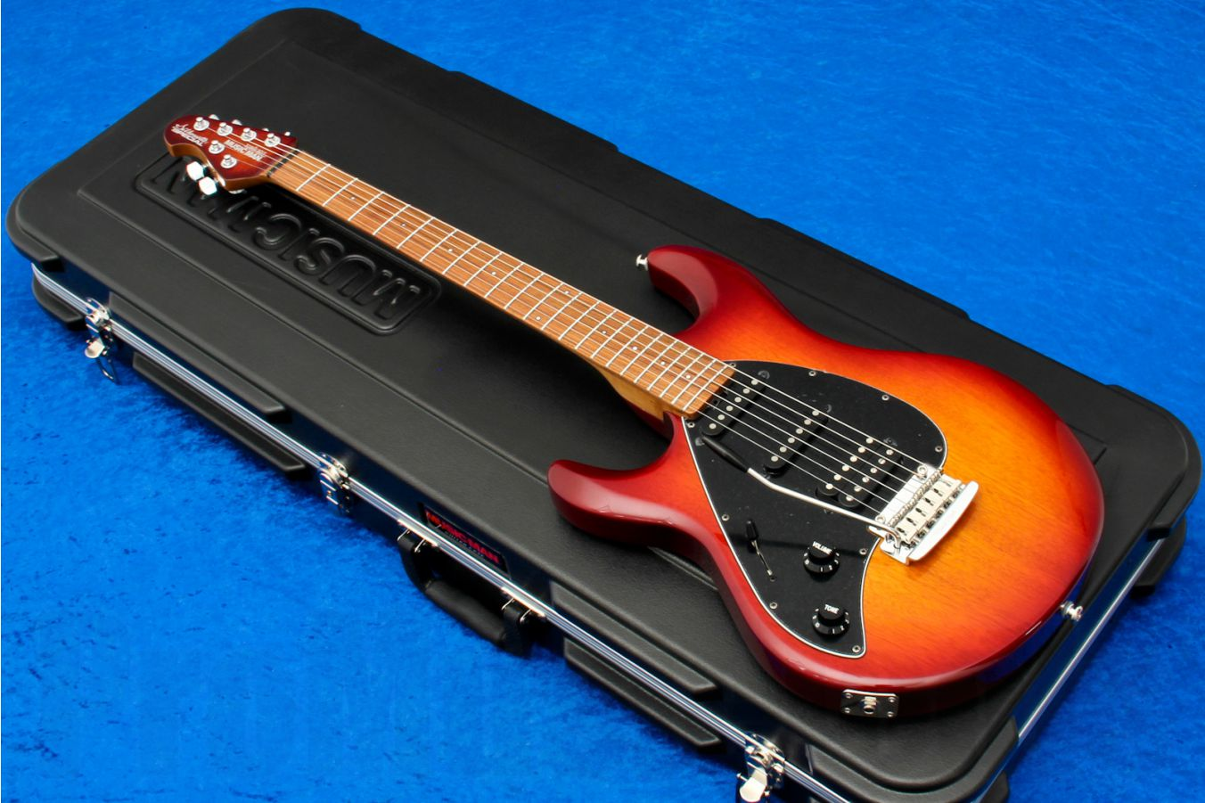 Music Man USA Silhouette Special HSS Trem Lefthand CH - PDN Honey Roasted Limited Edition