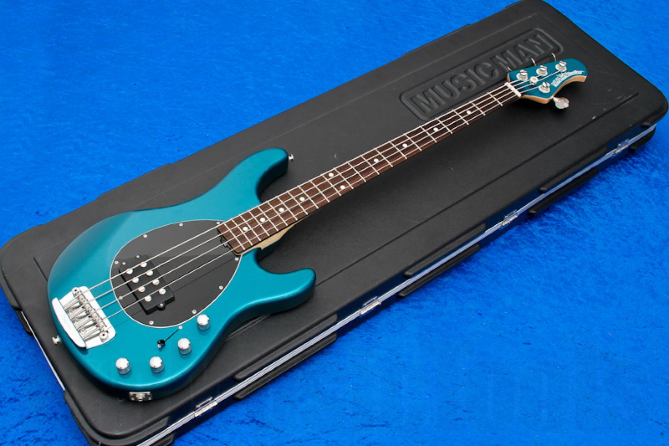 Music Man USA Sterling 4 TP - Teal Pearl RW MH