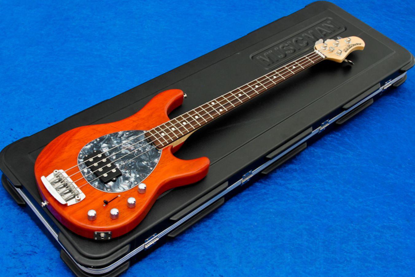 Music Man USA Sterling 4 TO - Translucent Orange RW