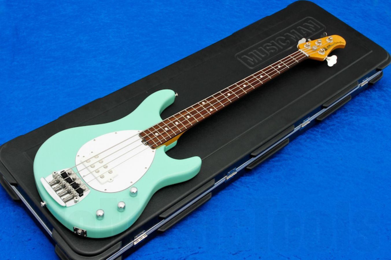 Music Man USA Classic Sterling 4 MG - Mint Green RW Birdseye