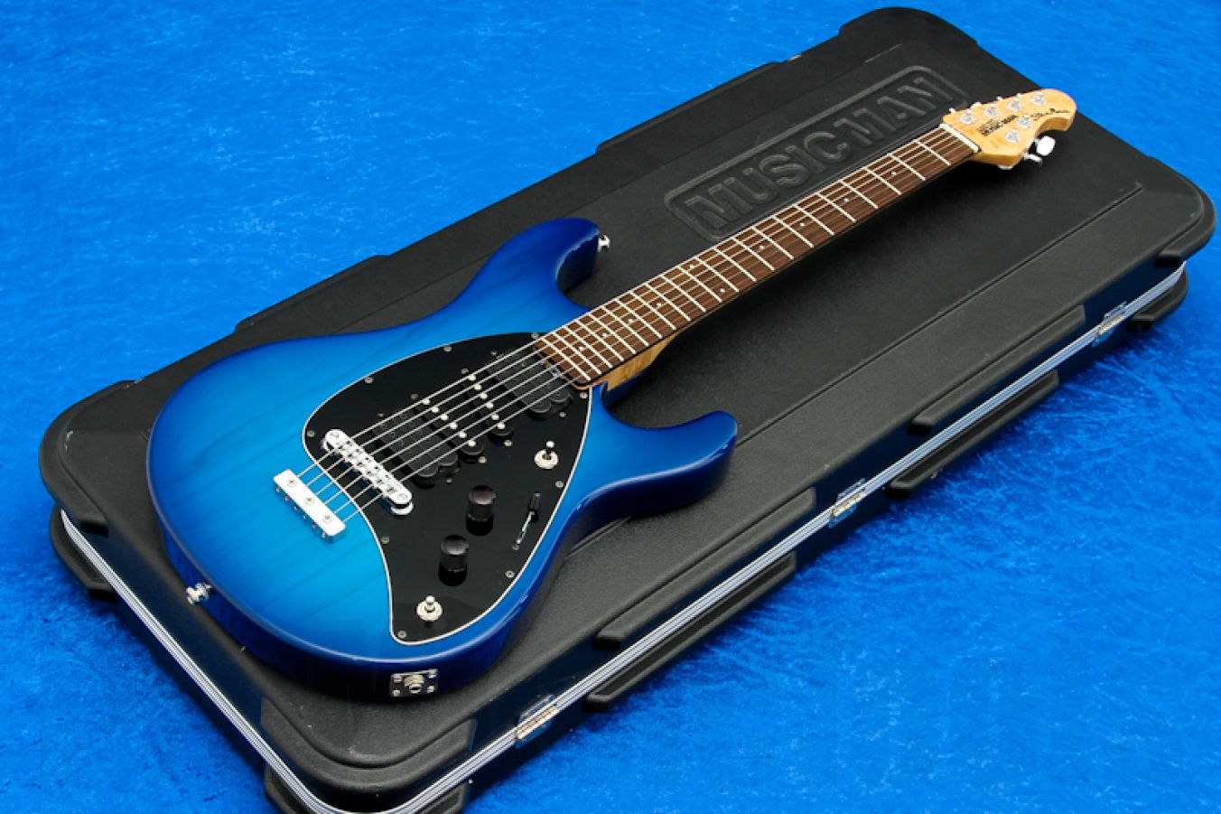 Music Man USA Steve Morse STD MBB - Morse Blue Burst