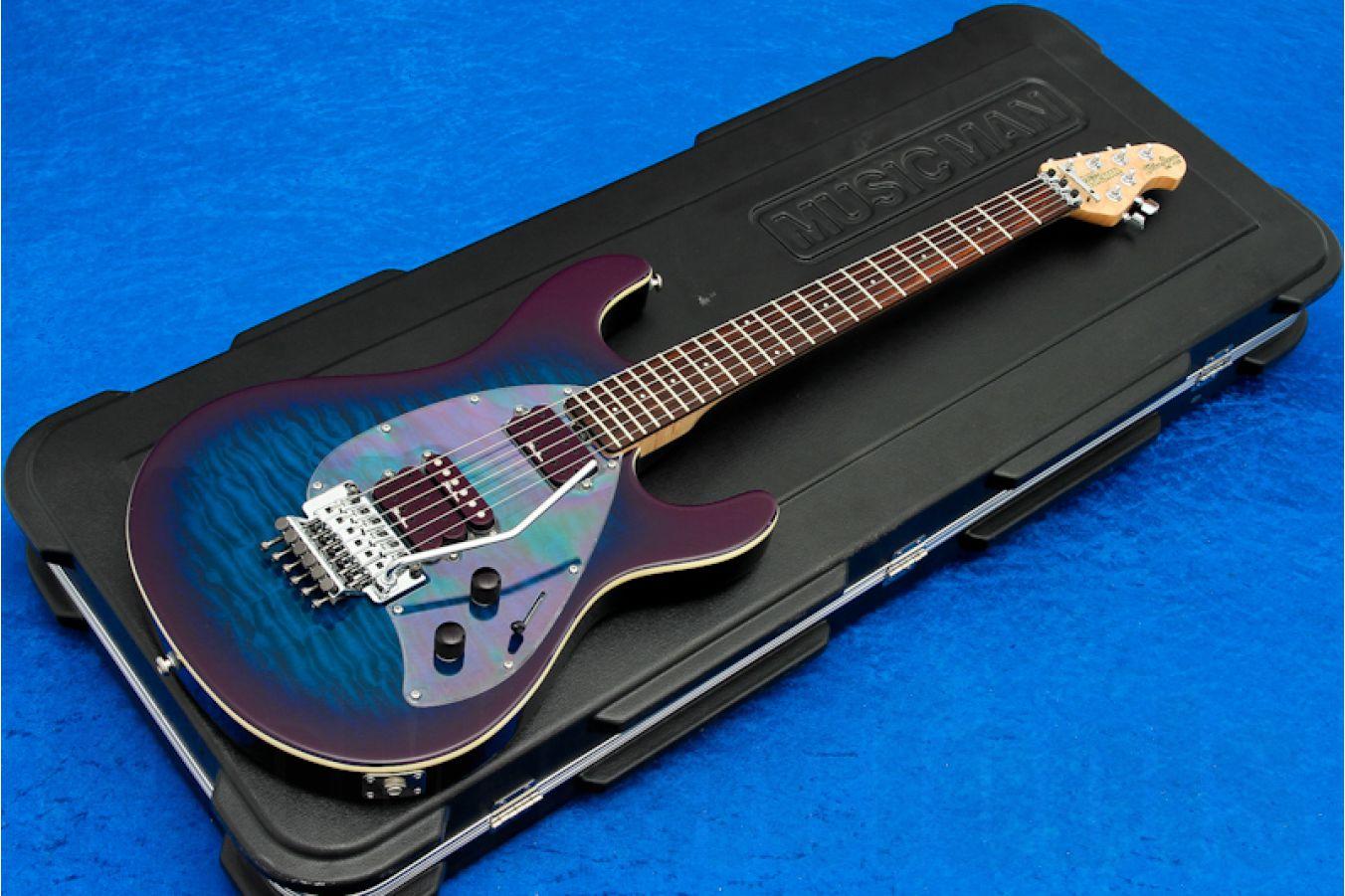 Music Man USA Steve Morse Y2D FR DPB - De-Purple Burst