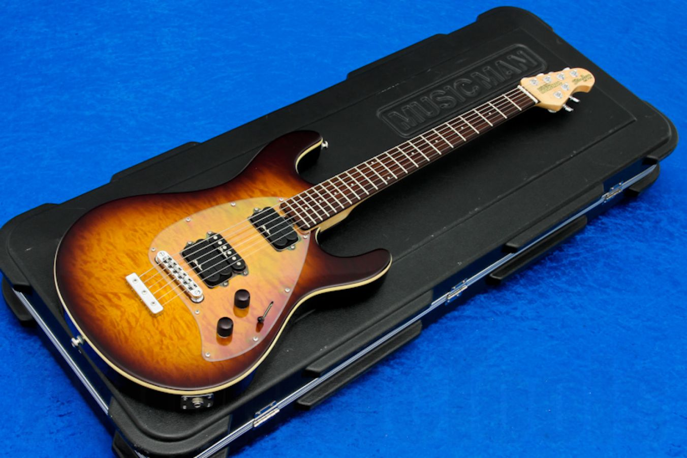 Music Man USA Steve Morse Y2D STD TB - Tobacco Burst