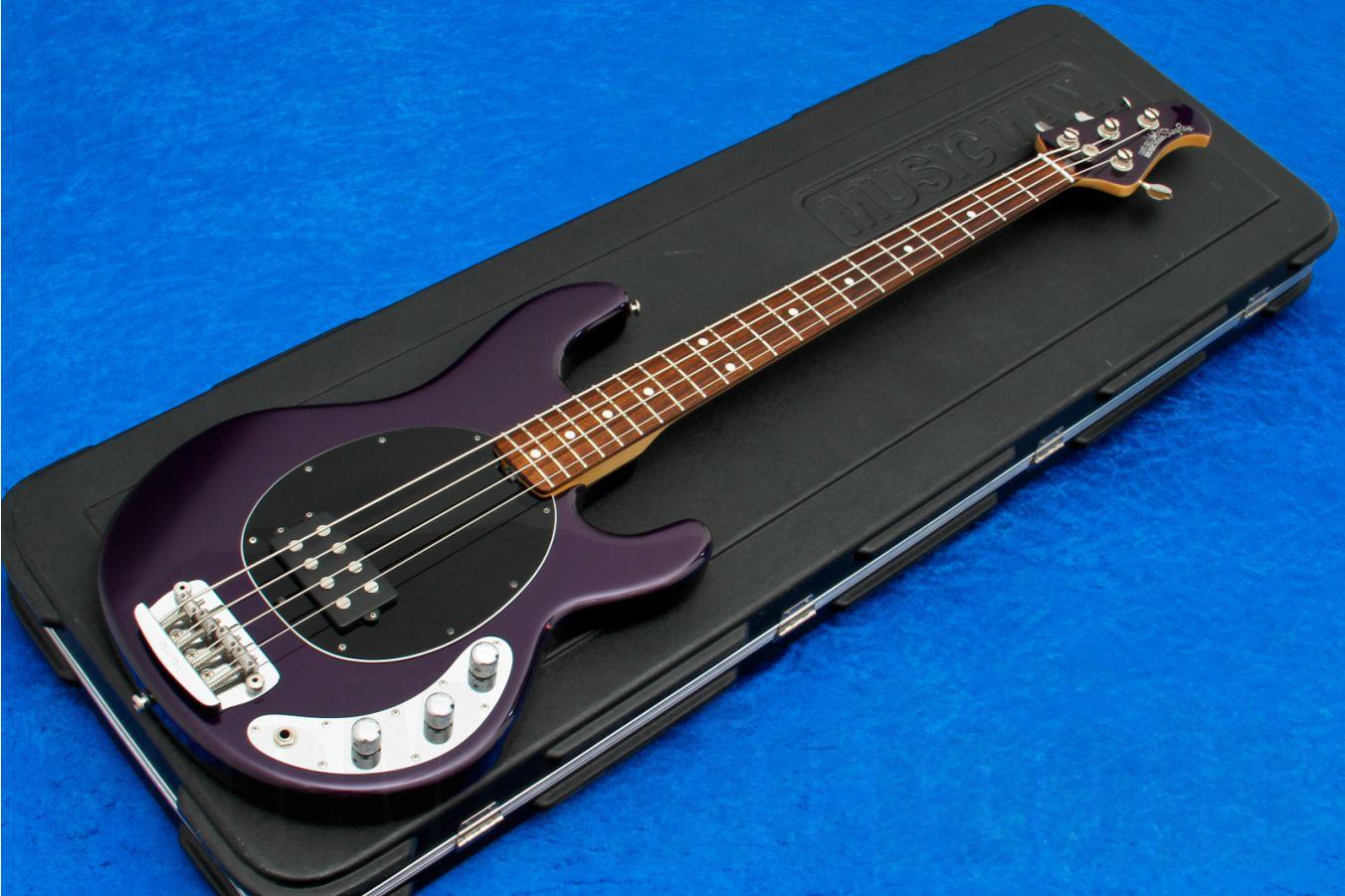 Music Man USA Stingray 4 2EQ PP - Pearl Purple RW MH Limited Edition