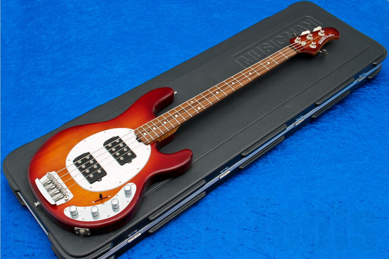 Music Man USA Stingray 4 HH CH - PDN Honey Roasted Limited Edition WPPG