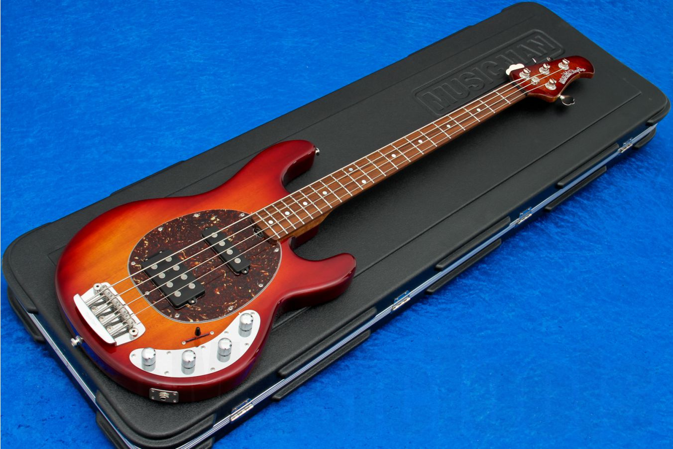 Music Man USA Stingray 4 HS CH - PDN Honey Roasted Limited Edition