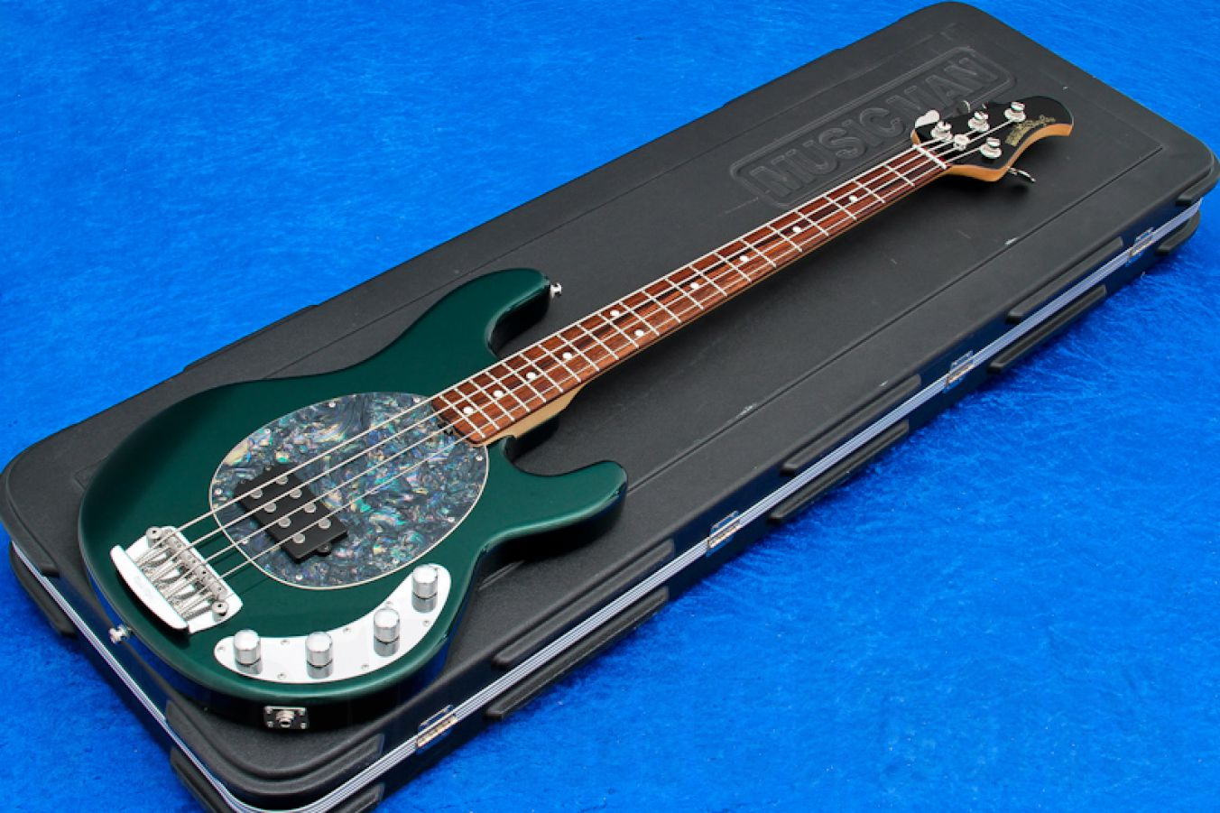 Music Man USA Stingray 4 LE - Envy Green Limited Edition