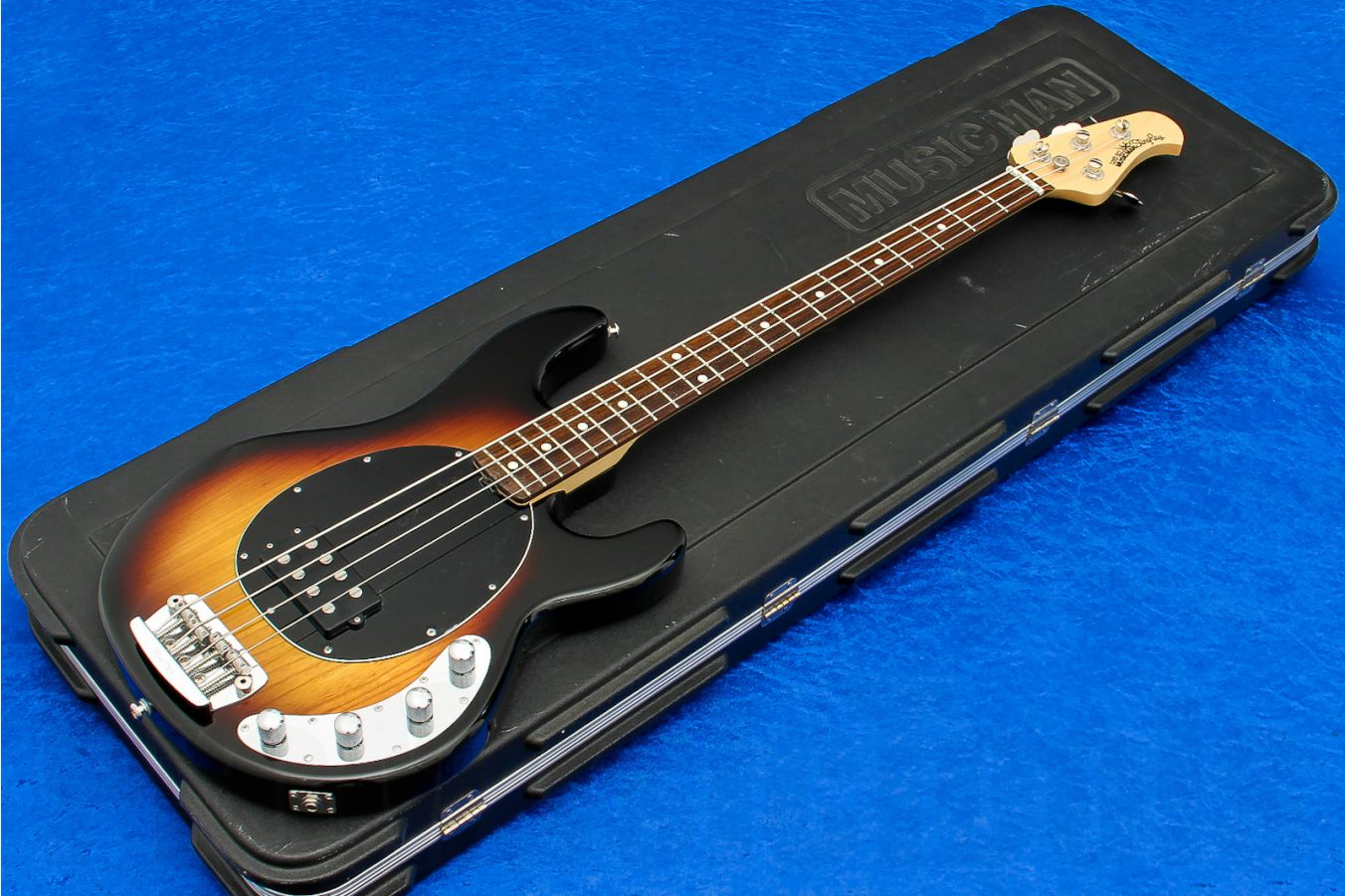 Music Man USA Stingray 4 VSB - Vintage Sunburst RW s/h