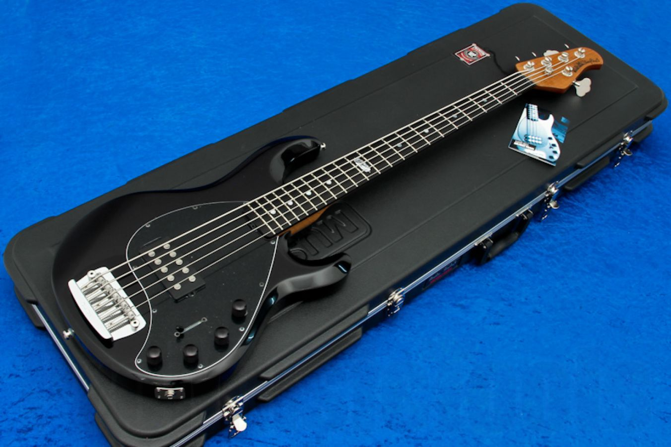 Music Man USA Stingray 5 BS - Black Sugar BFR Roasted Neck Limited Edition