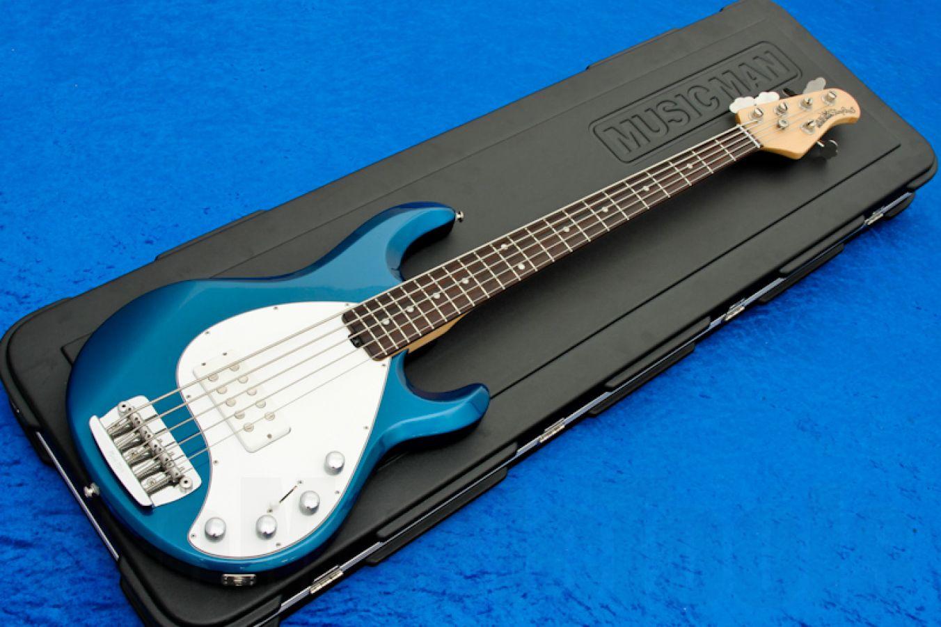 Music Man USA Stingray 5 BP - Blue Pearl RW