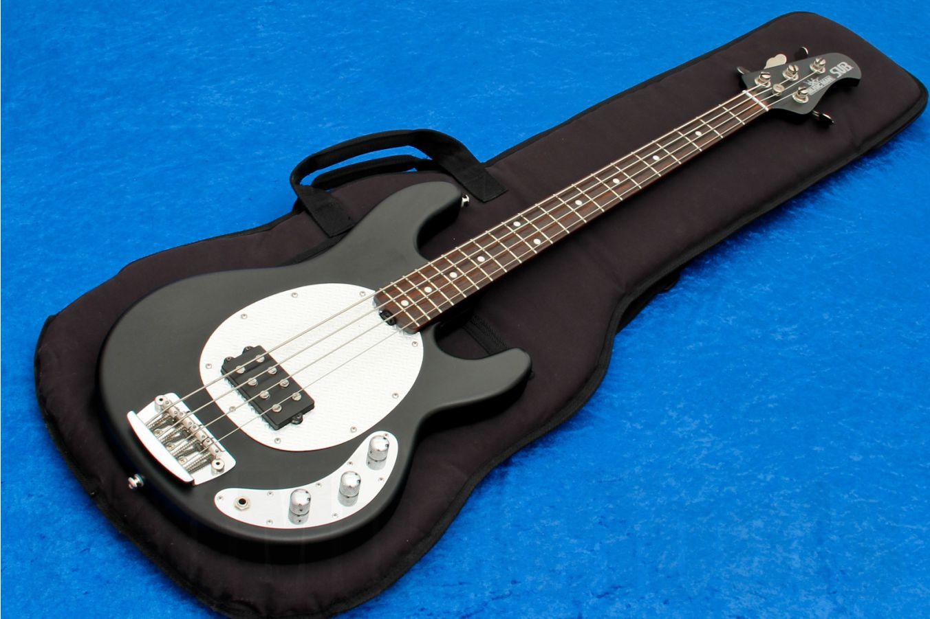 Music Man USA Stingray S.U.B. 4 Active T1 - Textured Black