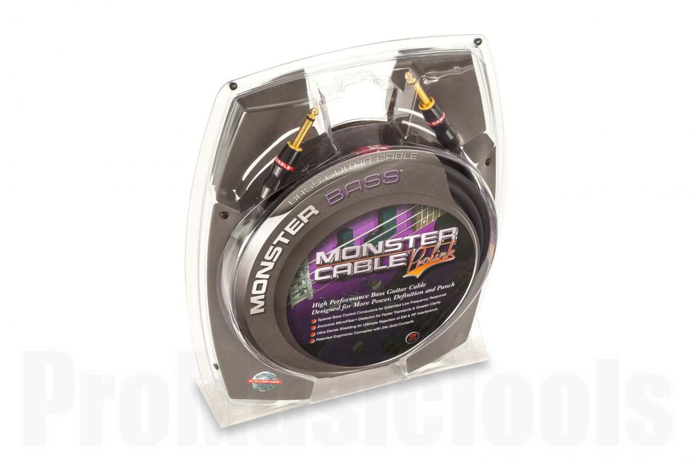 Monster Cable Bass Straight/Straight 3.65m (12')