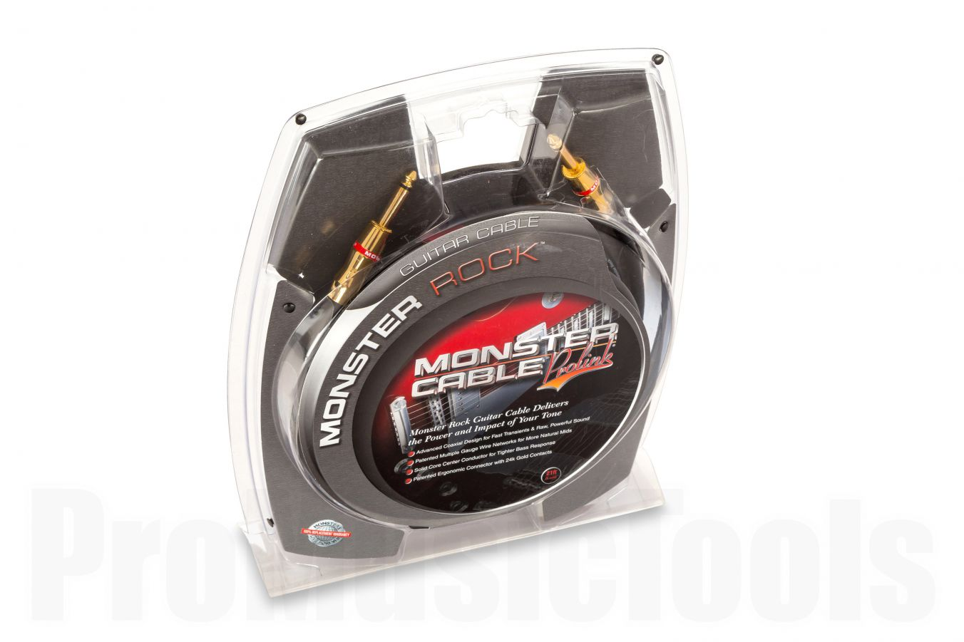 Monster Cable Rock Straight/Straight 6.4m (21')